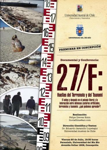 27/F: Huellas del terremoto y del tsunami