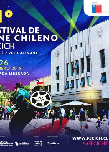 11º Festival de Cine Chileno (FECICH)