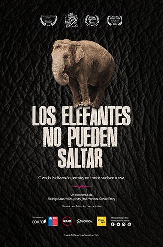 Los elefantes no pueden saltar