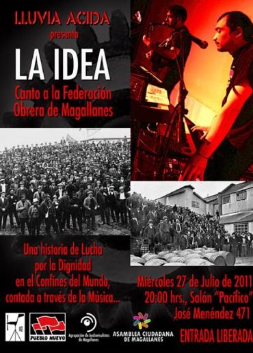 La idea: canto a la federación obrera de Magallanes