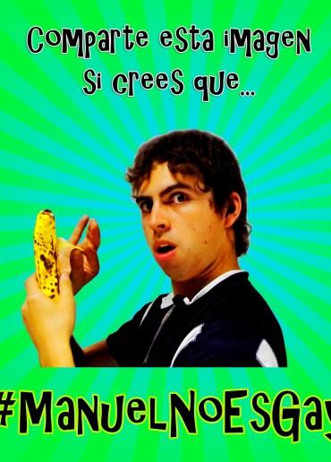 #ManuelNoEsGay