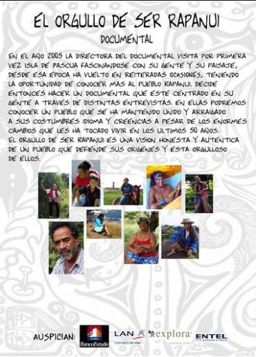 El Orgullo de ser Rapanui