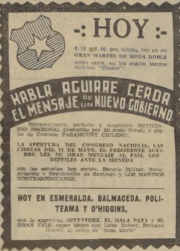 Habla Aguirre Cerda. El mensaje de un nuevo gobierno