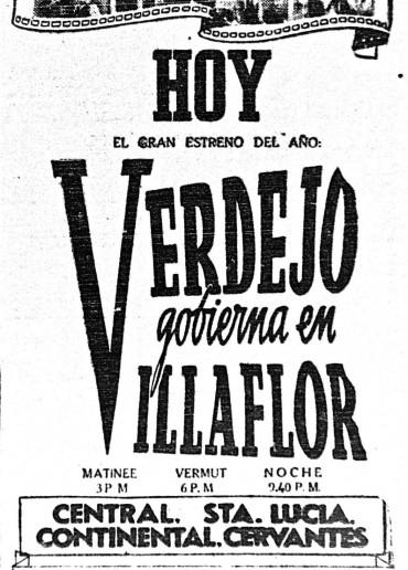 Verdejo gobierna en Villaflor