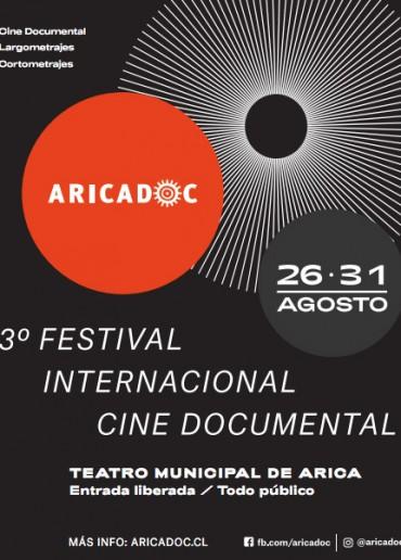 3º Festival Internacional Cine Documental Aricadoc