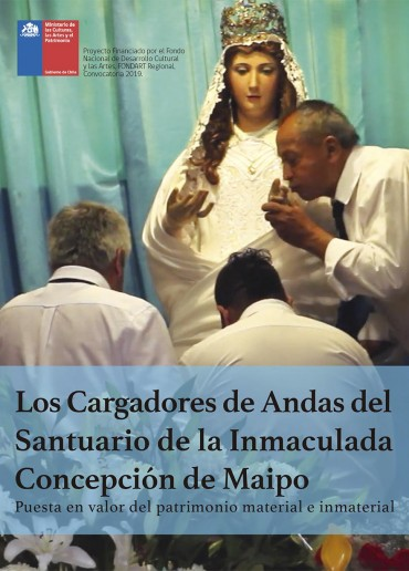 Los cargadores de andas del Santuario de la Inmaculada Concepción de Maipo