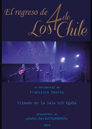 El regreso de Los 4 de Chile