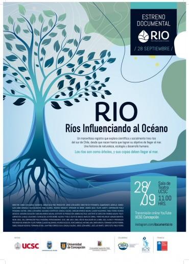 RÍO. Ríos influenciando al océano